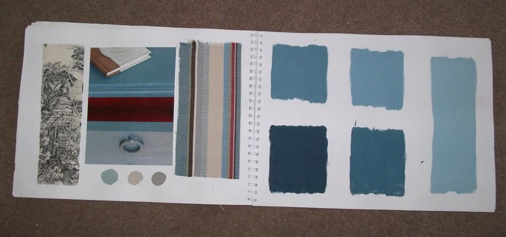 Blue Chalk Paint Chalk Paint Aubusson Blue