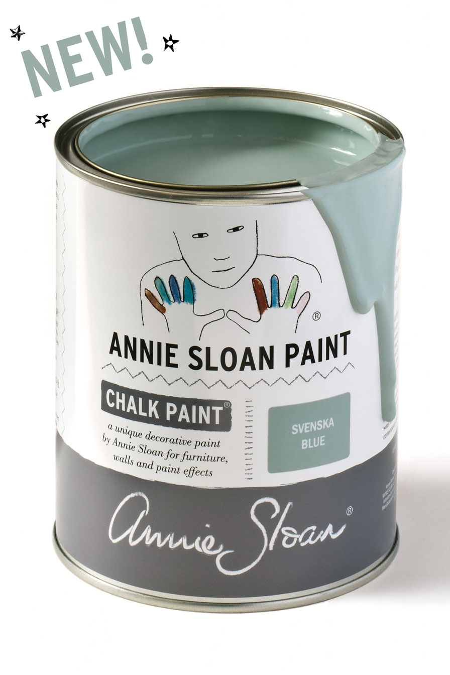 Peinture Annie Sloan En France annie sloan svenska blue - chalk paint in the deux sevres