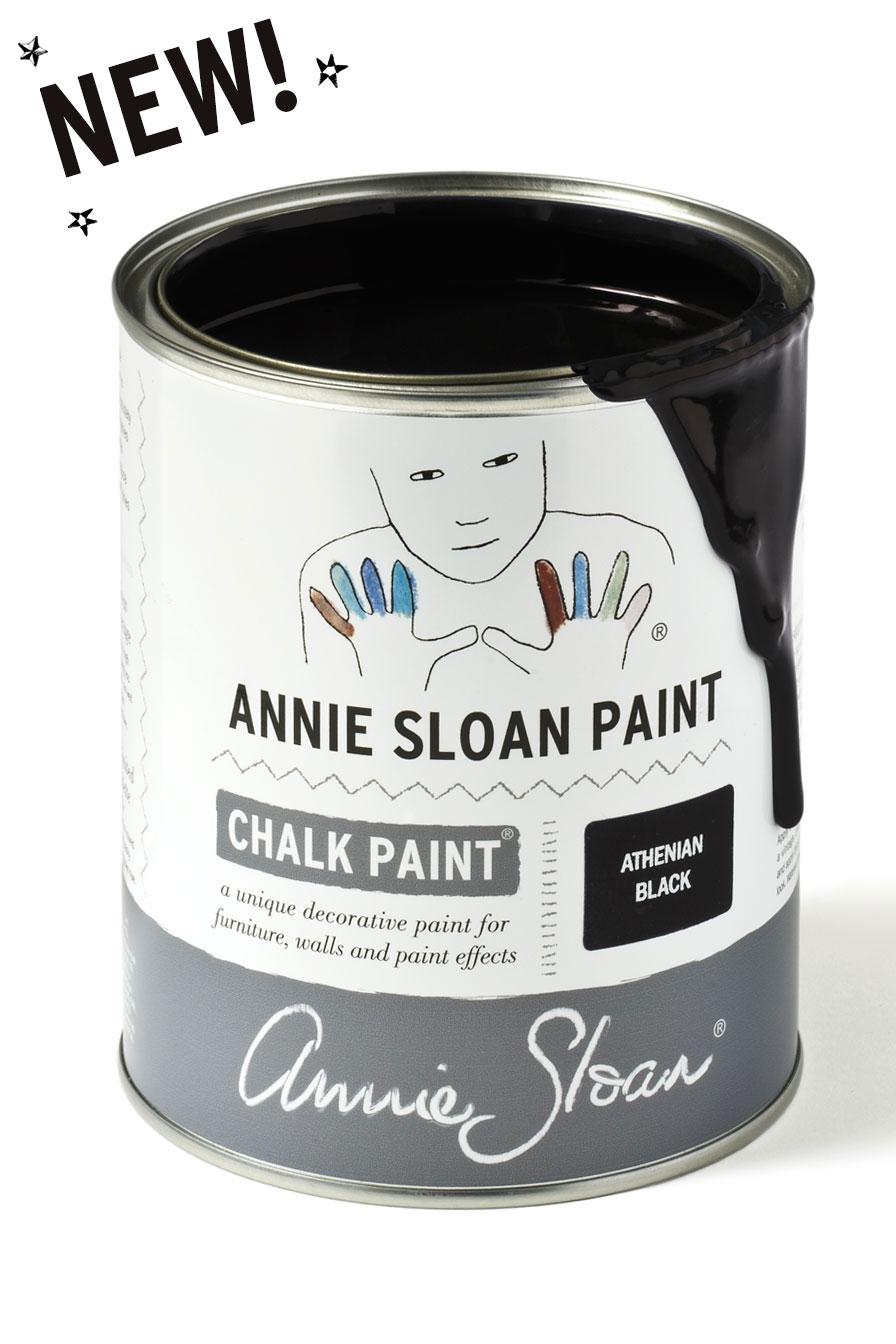 Peinture Annie Sloan En France annie sloan athenian black - chalk paint in the deux sevres